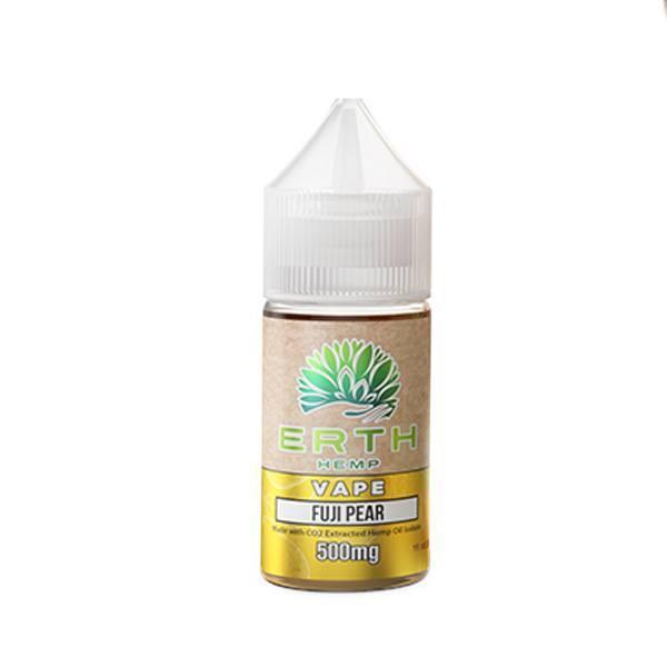 ERTH Hemp Fuji Pear CBD Vape Juice (30mL)