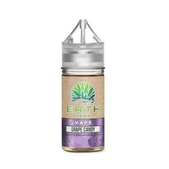 ERTH Hemp Grape Candy CBD Vape Juice (30mL)