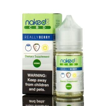 Naked 100 Really Berry CBD Vape Juice (30mL)